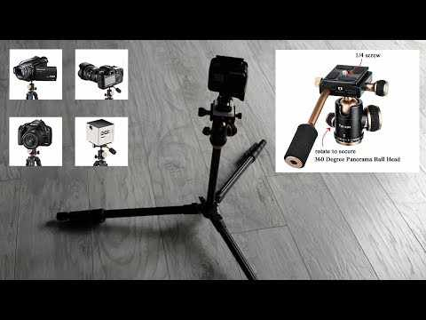 Best DSLR / Phone Tripod for Travel - 0.94kg, Quick release, 360 degree Pan [ YoTilon Tripod Review]
