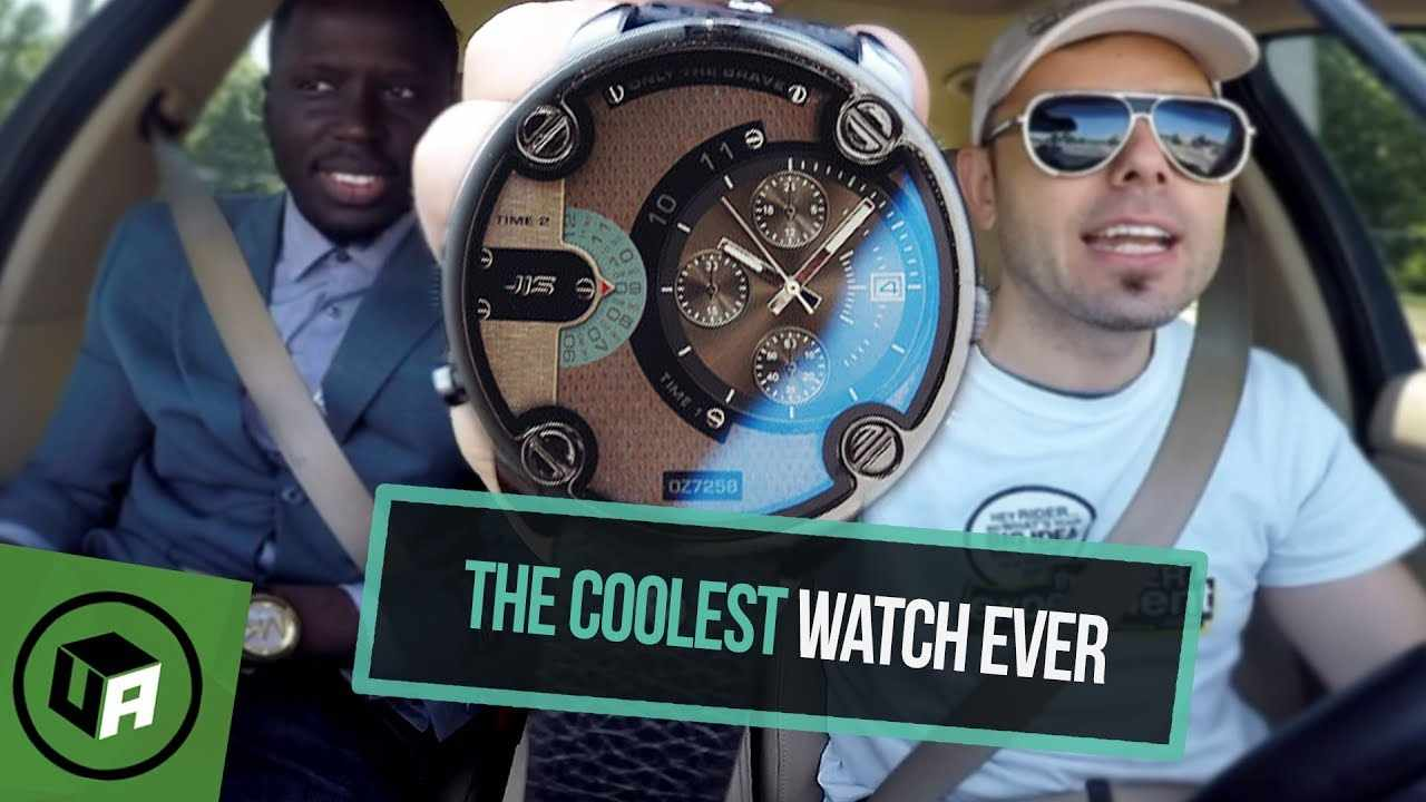 COOLEST WATCH EVER for $10 Bucks. Oversized CAY JIS Men's Watch Unboxing Review.