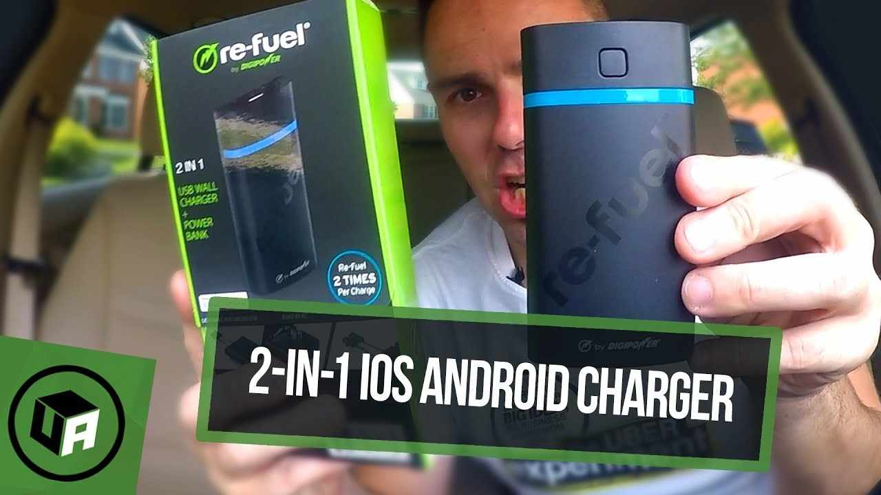Re-Fuel INTREPID 2 in 1 USB Wall Charger & 5200 mAh Powerbank Review