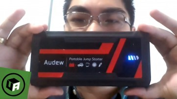 AUDEW Jump Starter Review and Power Test on Dead Car  Charge Phones, Cars & More with 16800 Mah of P