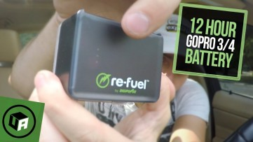BEST GoPro Hero 4 /3 Battery Pack. DIGIPOWER: Re-Fuel 12 HOUR ACTIONPACK Review & Unboxing ( 12H34 )