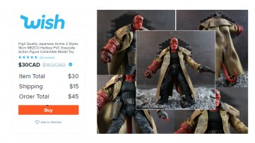 Best HELLBOY Knockoff Action Figure 7
