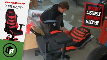 DXRacer Chair Review & Assembly. Red & Black OHRV131RB Office Gaming Chair - RevvdMotors Giveaway