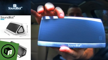 INSANELY LOUD & SLEEK Soundbot SB520 3d Bluetooth Speaker REVIEW