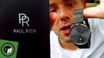 Paul Rich HAMPTON GREY - MESH Watch Review & Unboxing — The Hamptons Collection