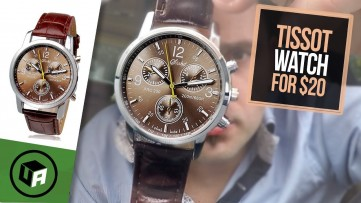 TISSOT PRC 200 Chronograph Watch Unboxing Review.  TLoowy Budget Watch look alike.