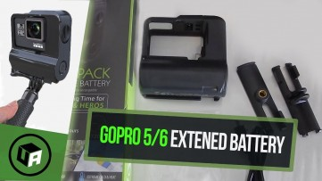 Waterproof 9HR Extended Battery for GoPro HERO 7 / HERO 6 / HERO 5 - Refuel battery Review Unboxing